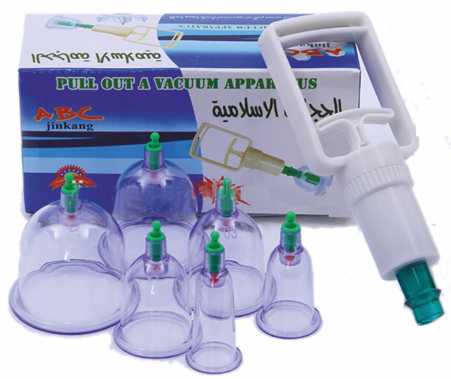 Vacuum Cupping  Set of 6 - Loose  - CL1